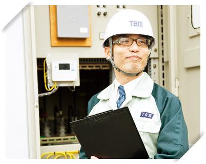 東洋ビルメンテナンスに就職した電気設備科の卒業生