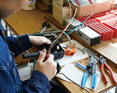 電気設備の施工技術